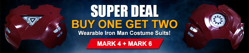 buy Ironman suit mark 4 and 6