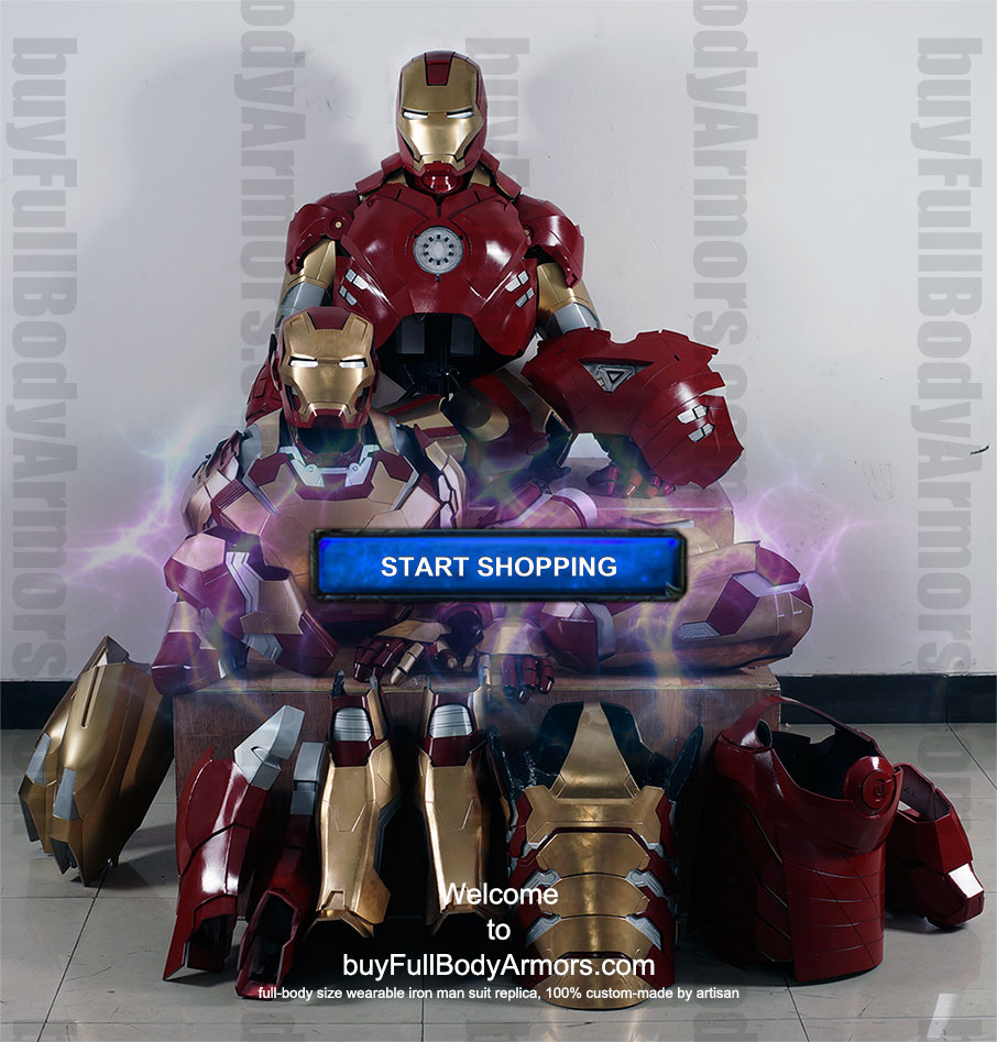 buy Iron Man costume suit store