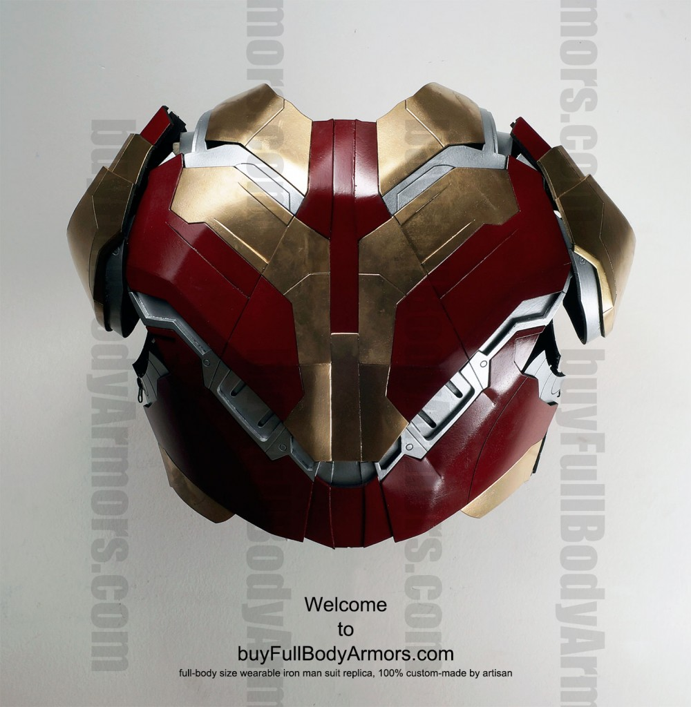 buy Iron Man suit Mark 42 Chest Back