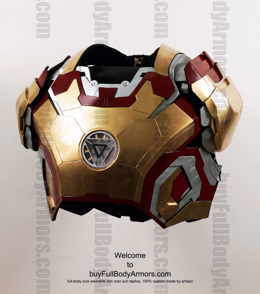 buy Iron Man suit Mark 42 Chest Front